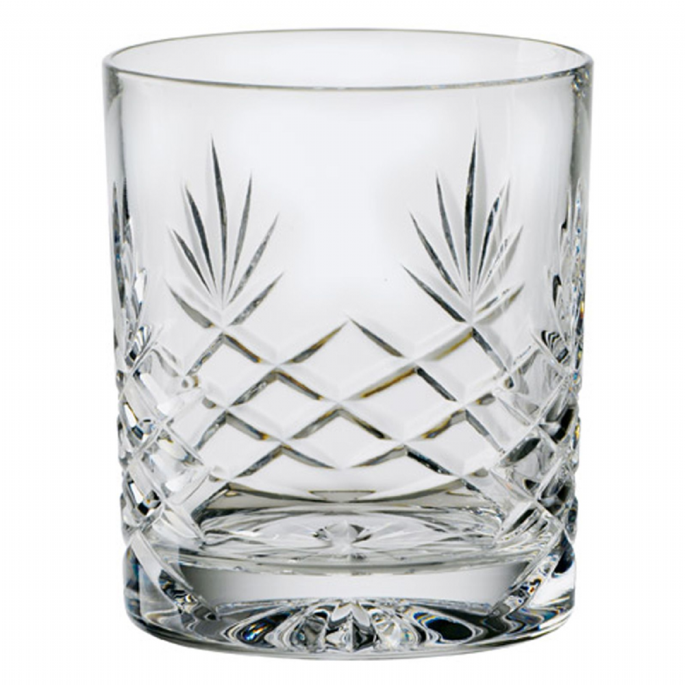Engraved Sovereign Crystal Whisky Tumbler